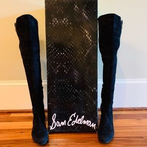 Sam Edelman James Suede Over the Knee Boots